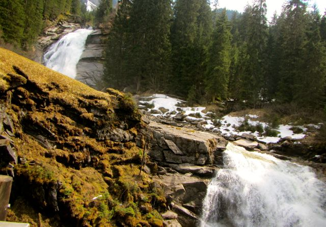 Krimml Waterfall in Hohe Tauern National Park, Austria