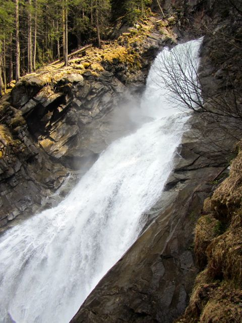 Lower falls of Krimml