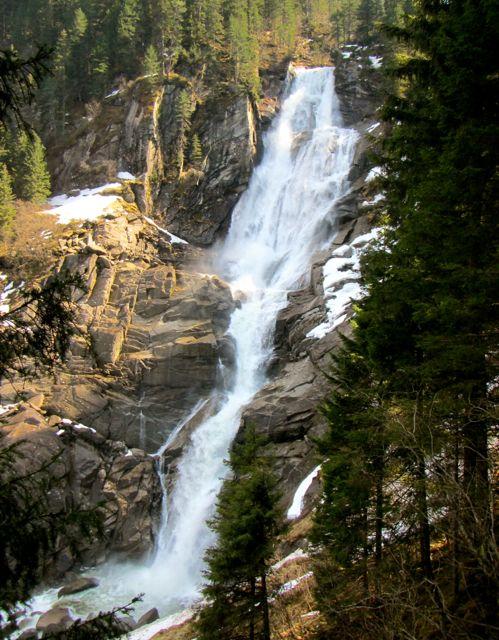 Upper falls of Krimml