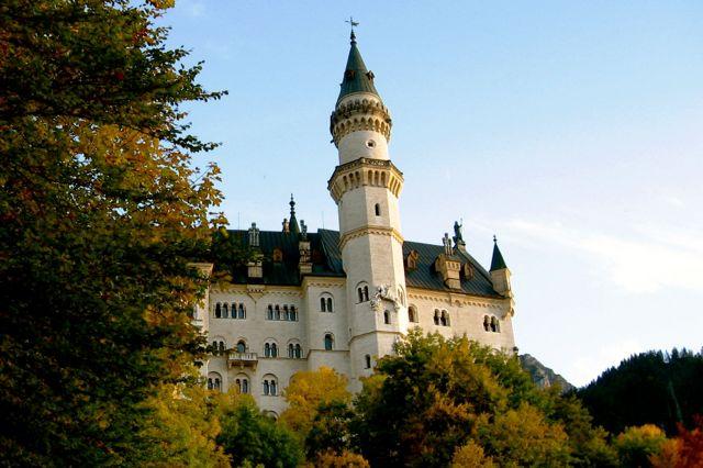 Neuschwanstein Castle in Bavaria, Germany