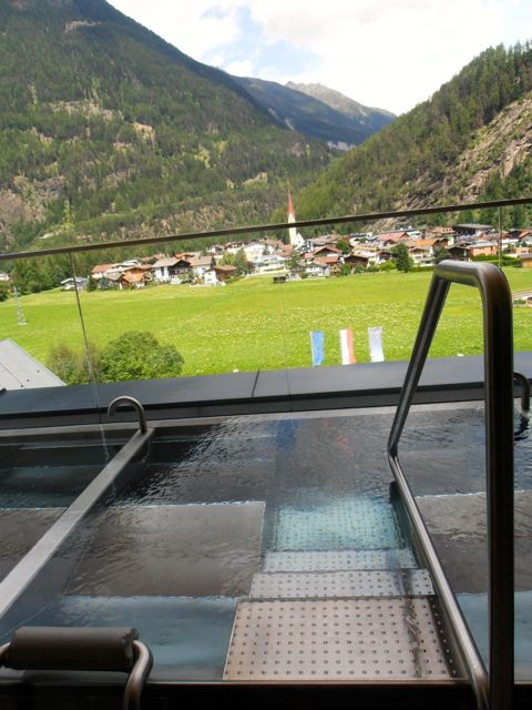 One of my favorite areas in the clothing area at SPA 3000 at AQUA DOME in Tyrol, Austria