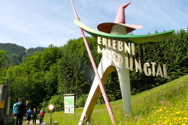 Entrance to Erlebniswelt Mendlingtal in Mostviertel, Austria