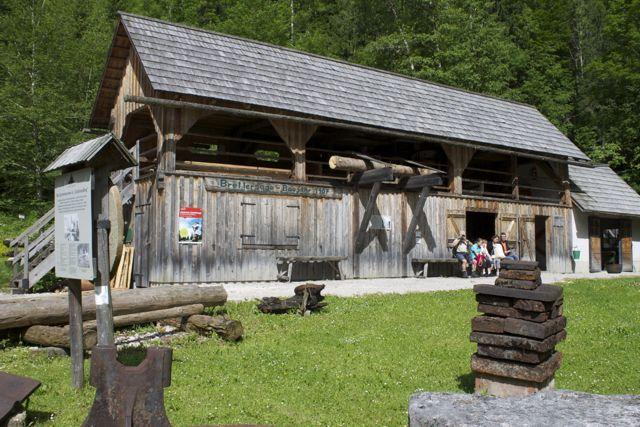 Open air museum at Erlebniswelt in Mostviertel, Austria