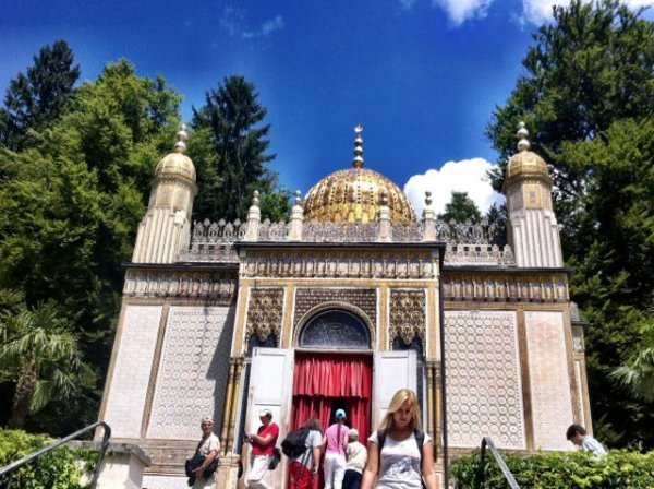 Moorish Kiosk on the grounds of Linderhof Palace in Bavaria, Germany