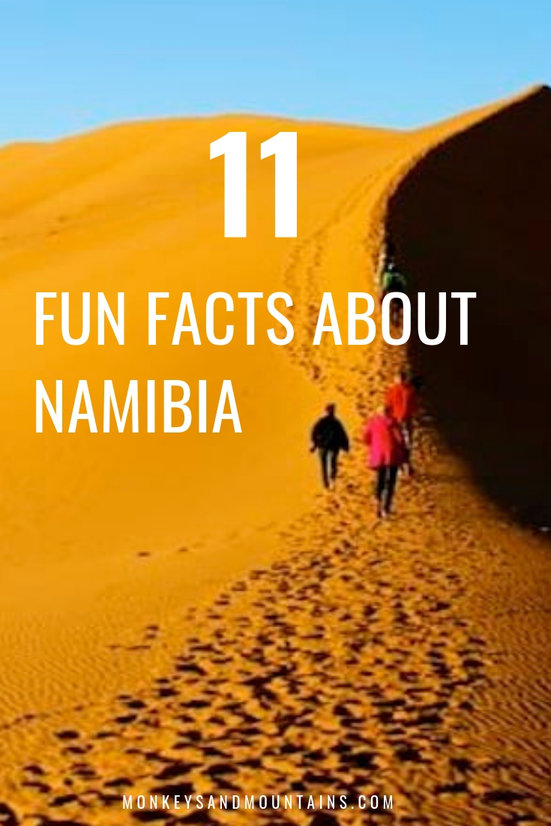 11 fun facts about Namibia