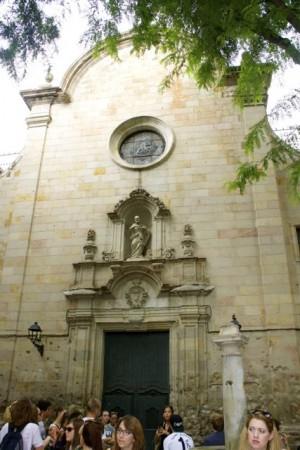 Sant Felip Church in Barcelona's Gothic Quarter