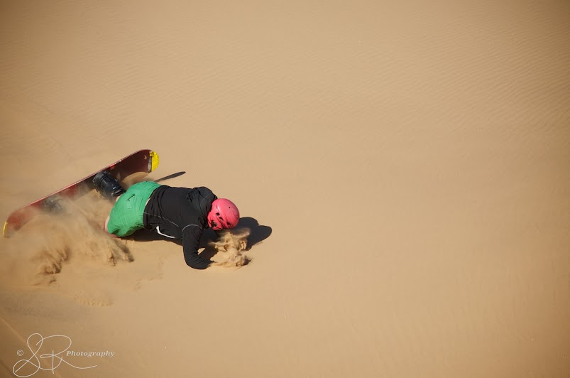 While Sand Boarding in Dorob National Park in I learned that travel experiences can be very humbling.