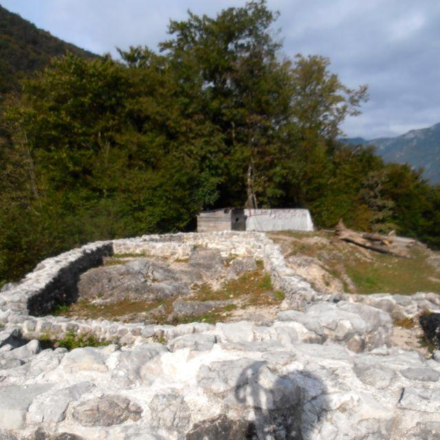Roman Ruins dating back to the 5th century onTonocov Grad Hill