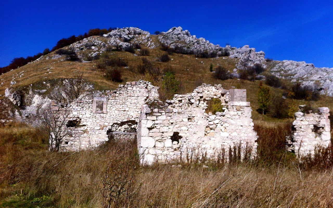 Ruins in Molise