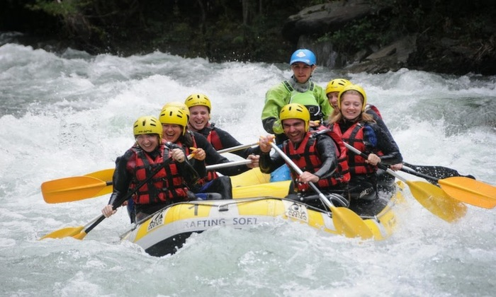 Loving the Class 3 rapids of the Noguera Pallaresa