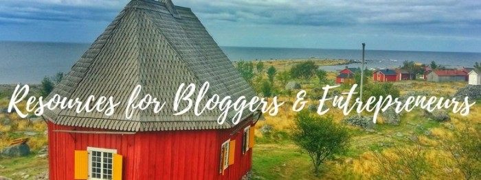 entrepreneurial resources for small business owners and bloggers