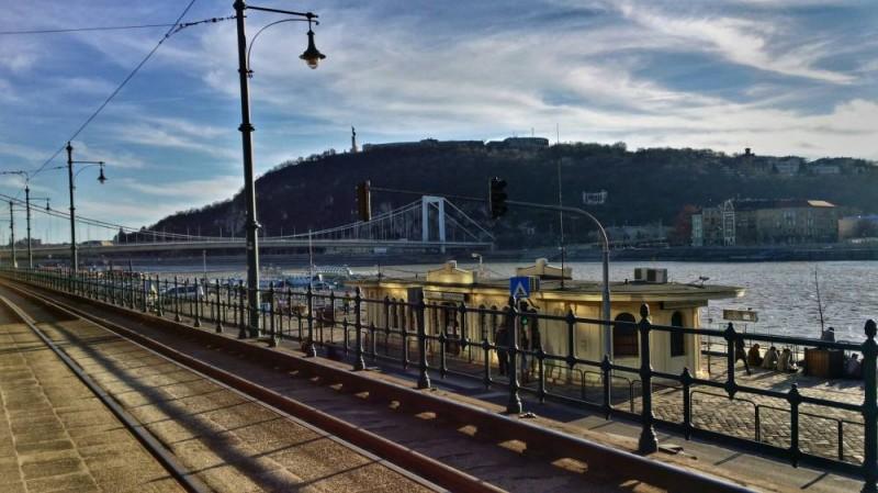 Tram #2 and the Danube