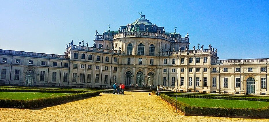 Hunting Residence of Stupinigi, a UNESCO World Site located near Turin, Italy