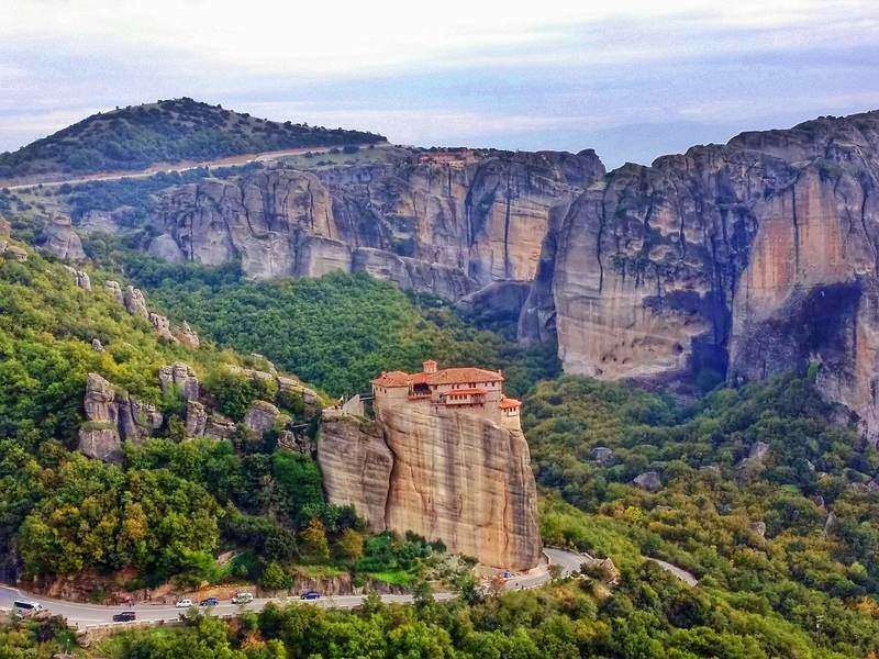 Adventure travel in Meteora Greece