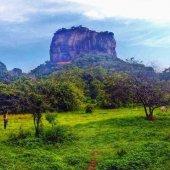 Sigirya Rock (Lion Rock) in Sri Lanka