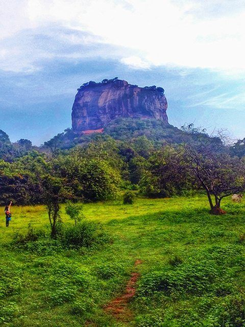 Sigirya Rock (Lion Rock) in Sri Lanka