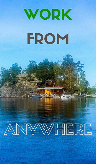 work from anywhere online tools for digital nomads who want to travel while they work