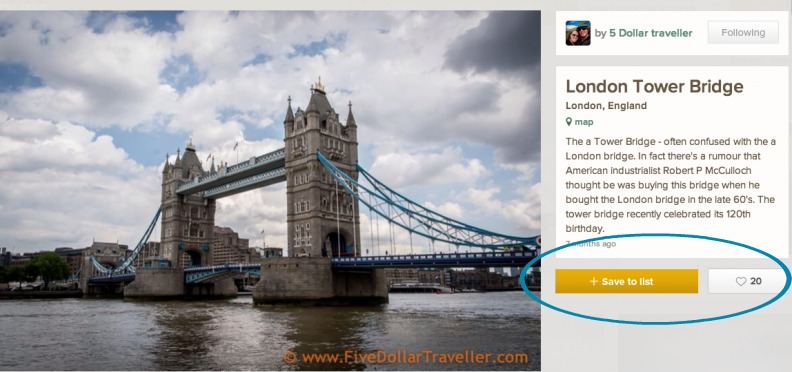 Trover london bridge