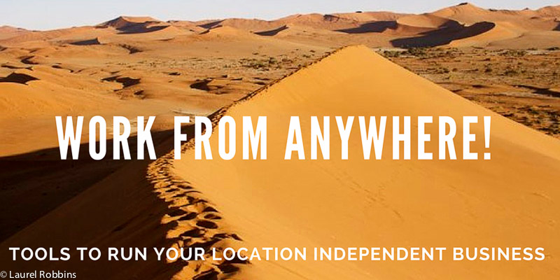 work from anywhere be location independent