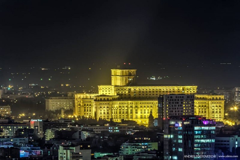 When sightseeing in Bucharest, the Palace of the Parliament is a must-see. It's the world's 2nd largest public office building after the Pentagon!