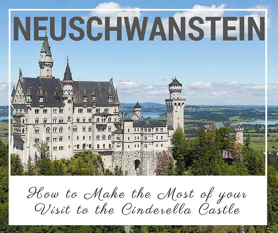 Neuschwanstein Fairytale Castle in Bavaria Germany