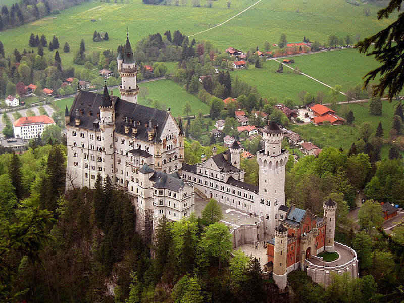 neuschwanstein_castle_in_germany the cinderella castle
