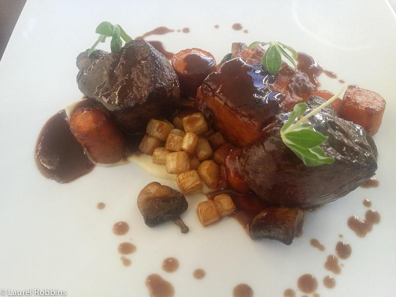 Finnish food steak at Huvila in Savonlinna