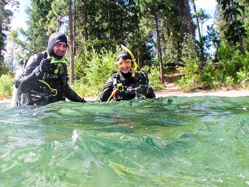 The Best Wreck Dive in Okanagan Lake
