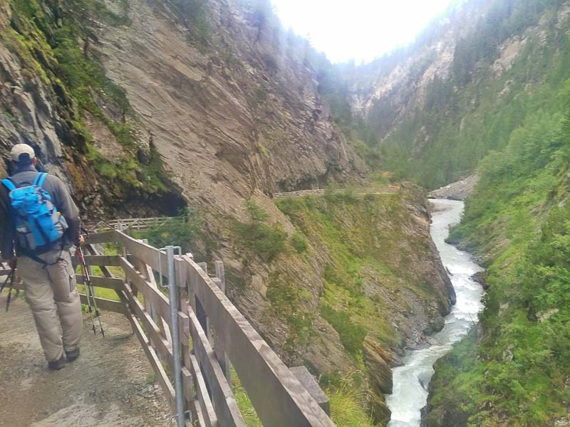 hiking adventures in Hohe Tauern in the Austrian Alps