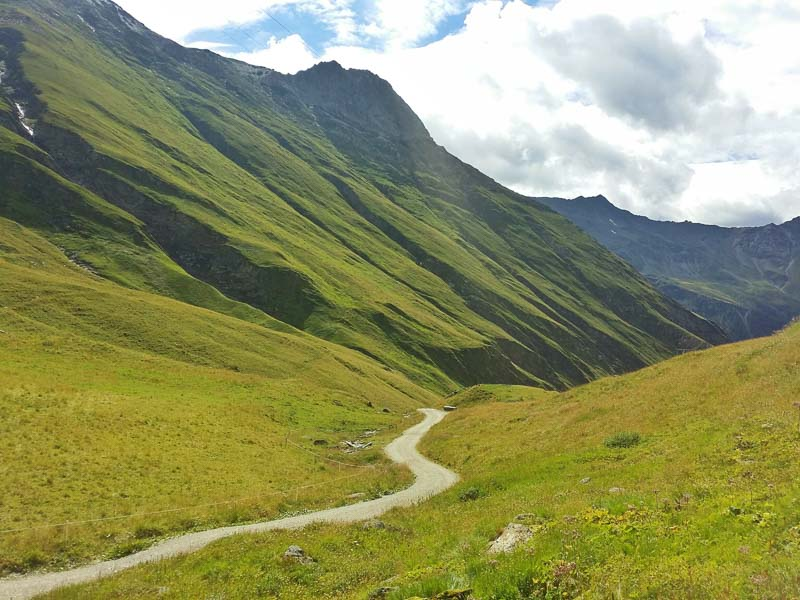 hiking adventures Hohe Tauern National Park in the Austrian Alps
