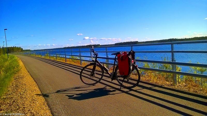 adventures of cycling EuroVelo 13 Finland -22