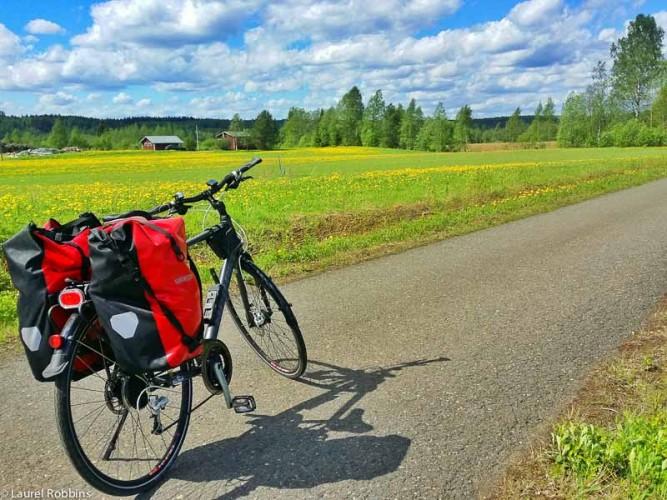 adventures of cycling EuroVelo 13 across Finland