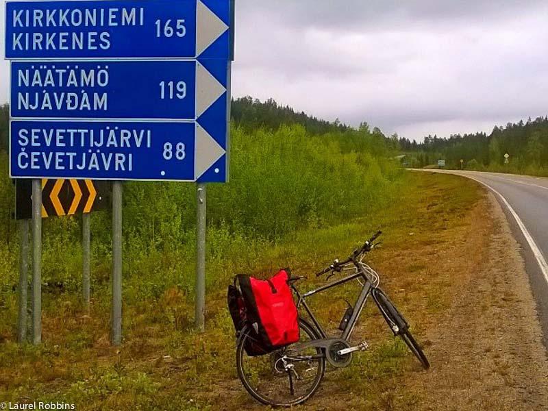 adventures of cycling EuroVelo 13 Finland -55