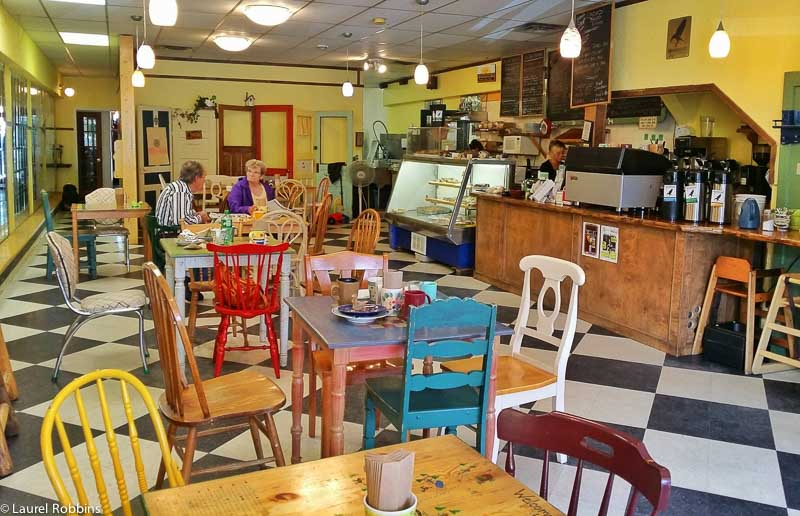 Stone's Throw Cafe in Blairmore
