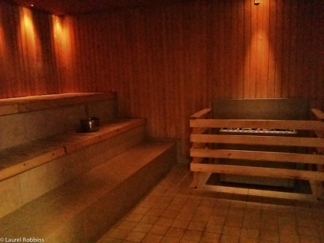 Finnish saunas will prevent muscle soreness when cycling