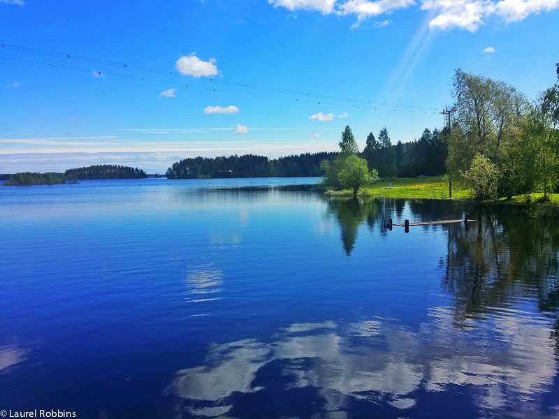 adventure cycling in Finland through Finnish Lakeland