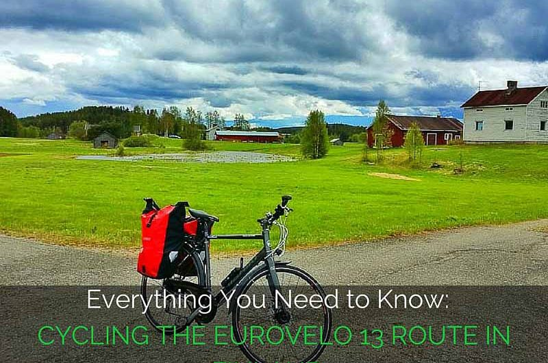 adventure cycling in Finland on the EuroVelo 13 Iron Curtain Trail