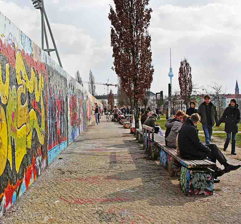 Mauerpark, one of the most historical parks in Berlin