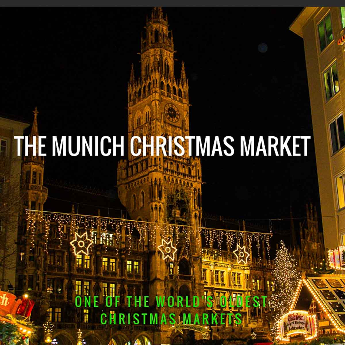 The Most Beautiful Christmas Markets in Munich, Germany