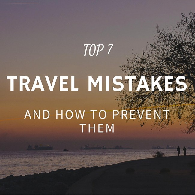 common travel mistakes