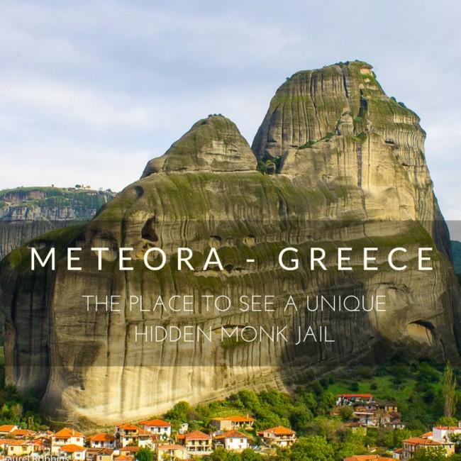 hike to Holy Spirit in Meteora, Greece