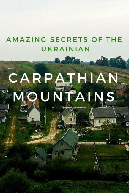 The Carpathian Mountains are the second longest mountain chain in Europe. Let's explore them in Ukraine!