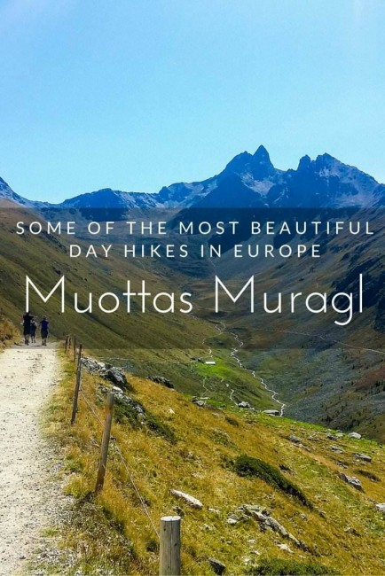 Muottas Muragl Engadin Mountains Switzerland