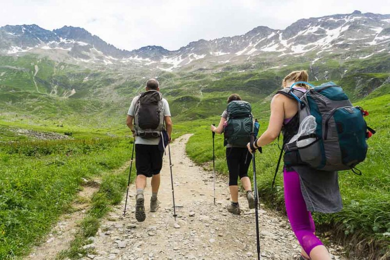 Trekking tips to make hiking long distance easier.