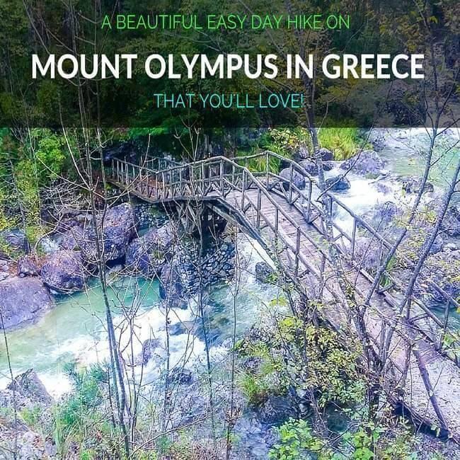 Hiking adventures on Mount Olympus Greece