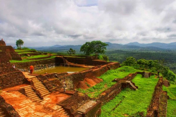 UNESCO site Sigyria is one of the best places to visit in Sri Lanka