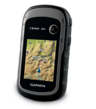 day hiking packing list: garmin outdoor GPS
