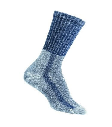 Moisture wicking hiking socks