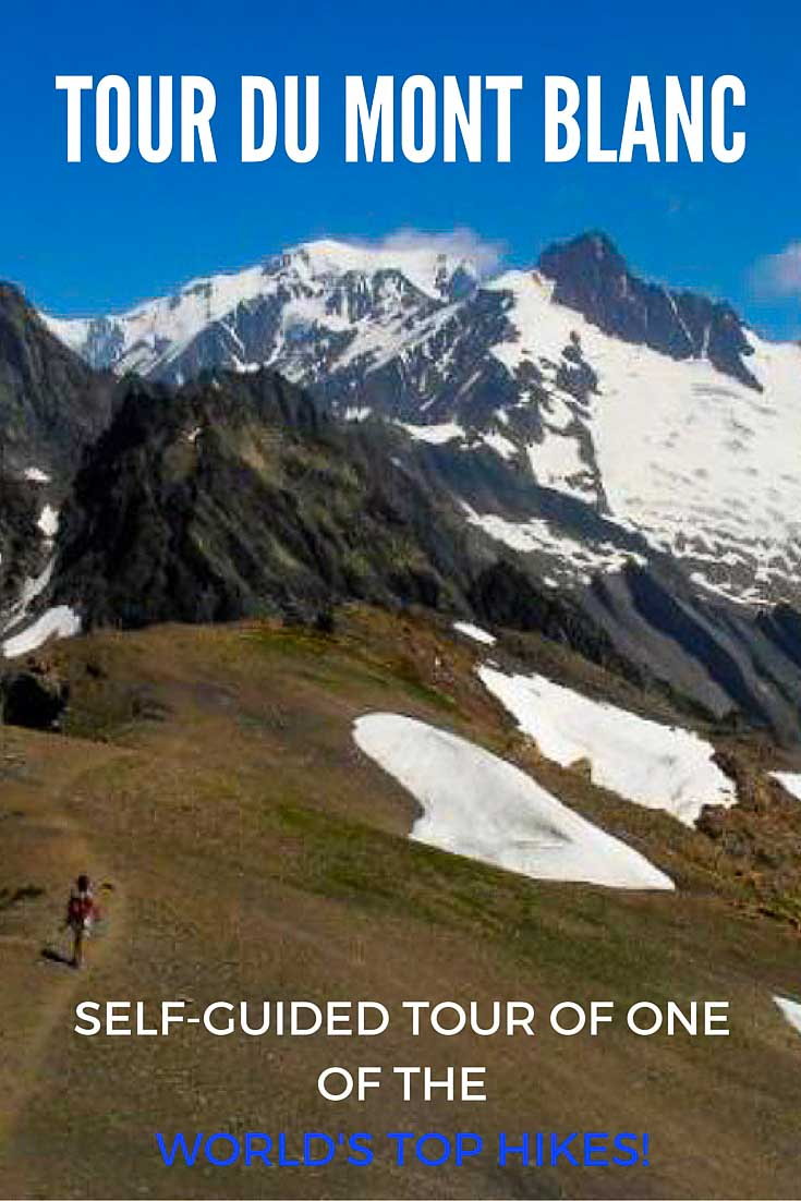 Self-guided tour on the Tour du Mont Blanc (TMB), one of the most epic treks in the world! You'll hike around the second highest glacier-covered peak in Europe and hike in France, Italy and Switzerland for the trip of a lifetime!
