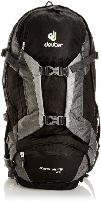 30 litre backpack is a key part of your day hiking packing list for your mountain adventure